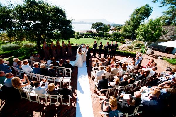 Fisheye Wedding At The Center 006 Art Lawn